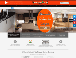 designindiankitchen.com screenshot