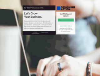 designingnation.com screenshot