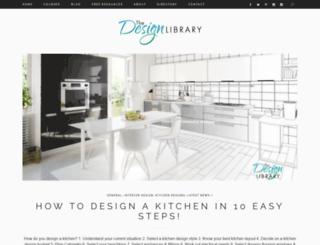 designlibrary.com.au screenshot