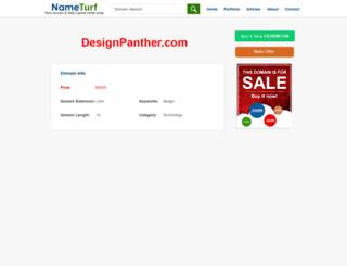 designpanther.com screenshot