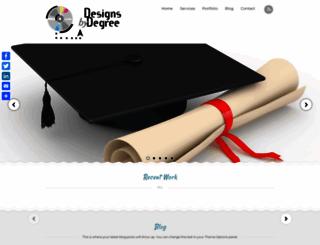 designsbydegree.com screenshot