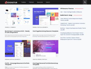 designstub.com screenshot