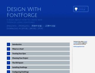 designwithfontforge.com screenshot