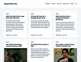 designworklife.com screenshot
