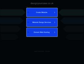 designyourcase.co.uk screenshot