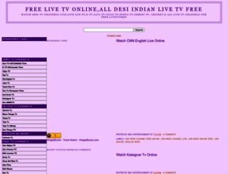 desilivetvonline.blogspot.com screenshot