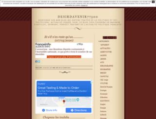 desirdavenir77500.unblog.fr screenshot
