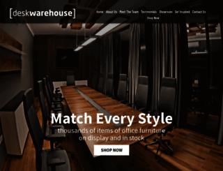 desk-warehouse.co.uk screenshot
