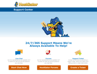 desk.hostgator.in screenshot