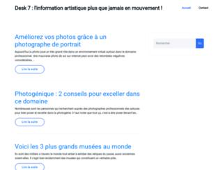 desk7.net screenshot