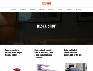 deskashop.cz screenshot