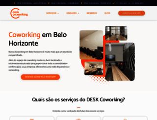 deskcoworking.com.br screenshot