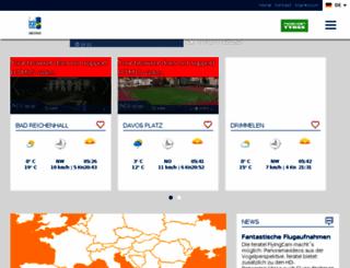 deskline.feratel.it screenshot