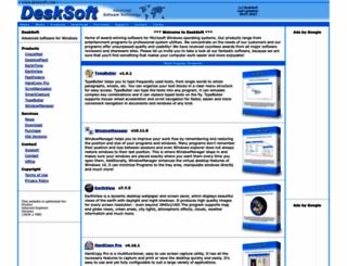 desksoft.com screenshot