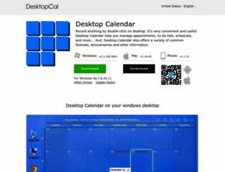 desktopcal.com screenshot