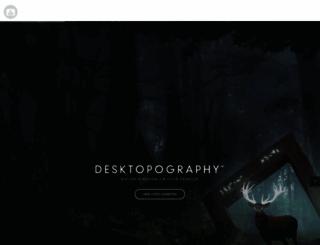 desktopography.net screenshot