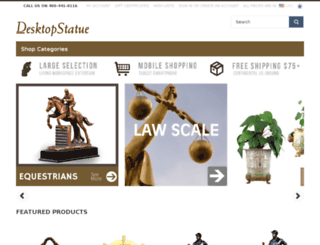 desktopstatue.com screenshot
