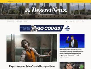 desnews.com screenshot