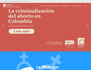 despenalizaciondelaborto.org.co screenshot