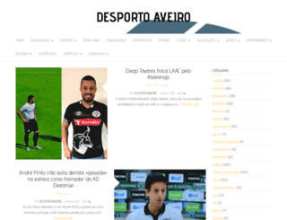 desportoaveiro.pt screenshot