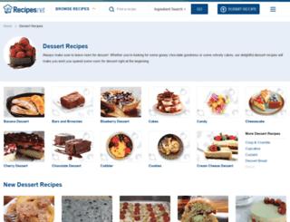 dessert.betterrecipes.com screenshot