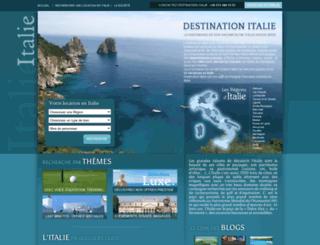 destination-italie.net screenshot