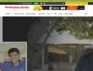 destination-kerala.com screenshot