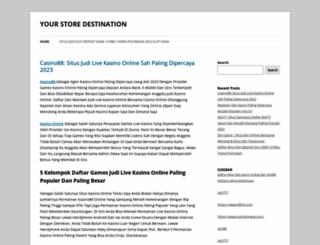 destination-store.com screenshot