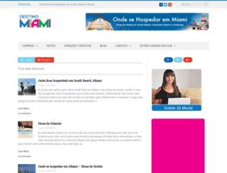 destinomiami.com.br screenshot