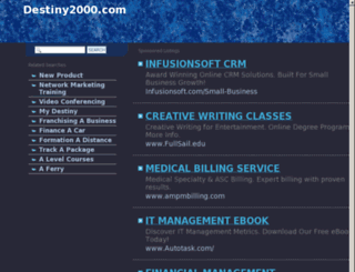 destiny2000.com screenshot