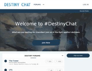 destinychat.com screenshot