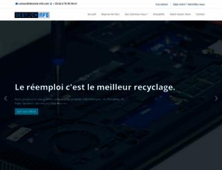 destock-info.com screenshot