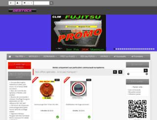 destock-pieces-auto.com screenshot