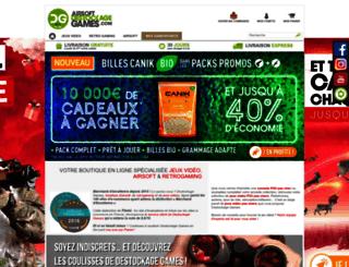 destockage-games.com screenshot