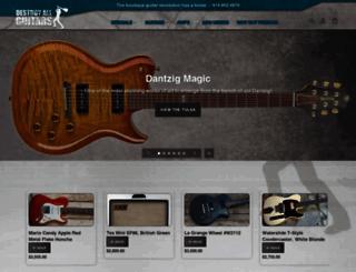 destroyallguitars.com screenshot