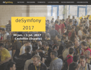 desymfony.com screenshot