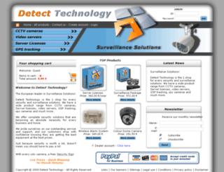 detect-technology.com screenshot