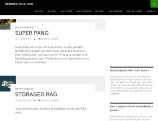 detente-jeux.com screenshot