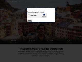 detourista.com screenshot