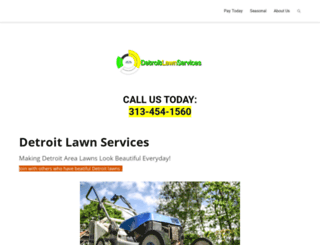 detroitlawnservices.com screenshot
