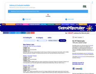 detroitrecruiter.com screenshot