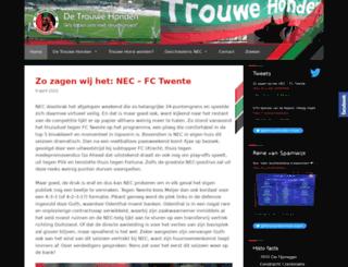 detrouwehonden.nl screenshot