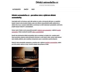 detska-autosedacka.cz screenshot