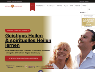 deutsche-heilerschule.de screenshot