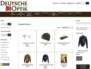 deutscheoptik.com screenshot