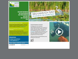deutscher-naturschutzpreis.de screenshot
