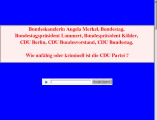 deutsches-parlament.de.tf screenshot