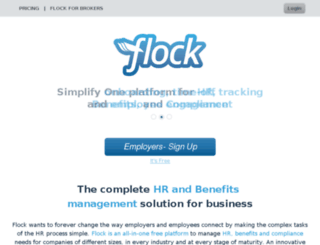 dev-fixes.helloflock.com screenshot