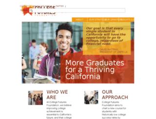 dev-gmmb-college-futures.pantheon.io screenshot