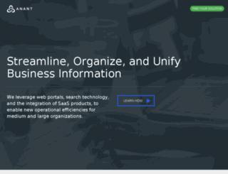 dev.anant.us screenshot